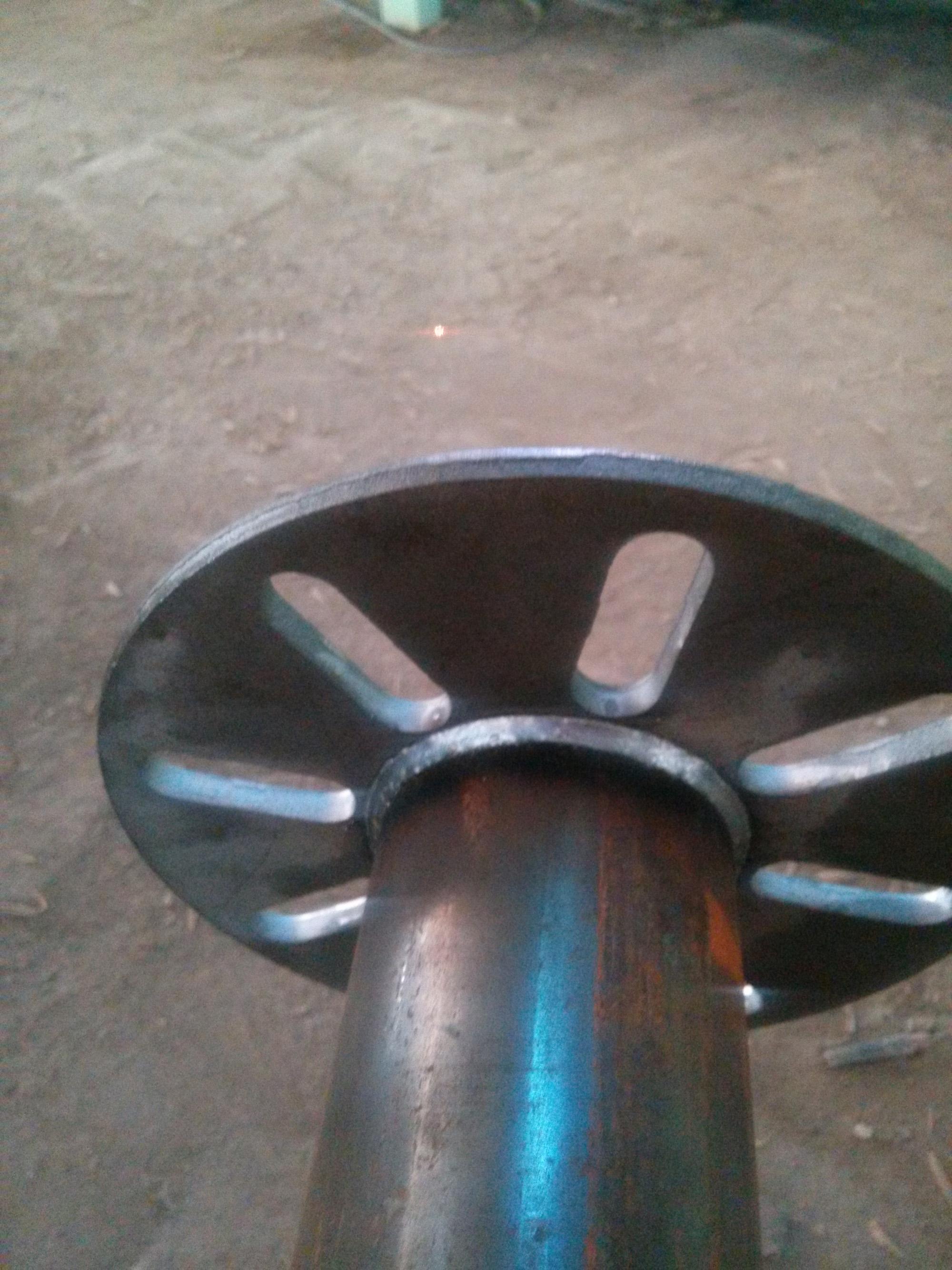 ground screw anchor