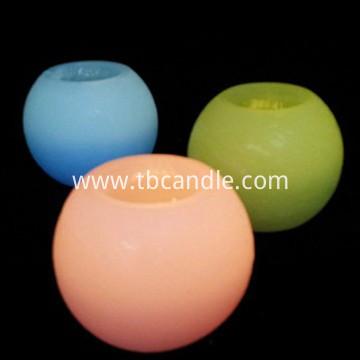 multi-colored flameless LED candle wholesale