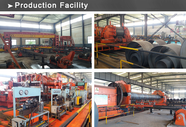 ssaw pipe production facility