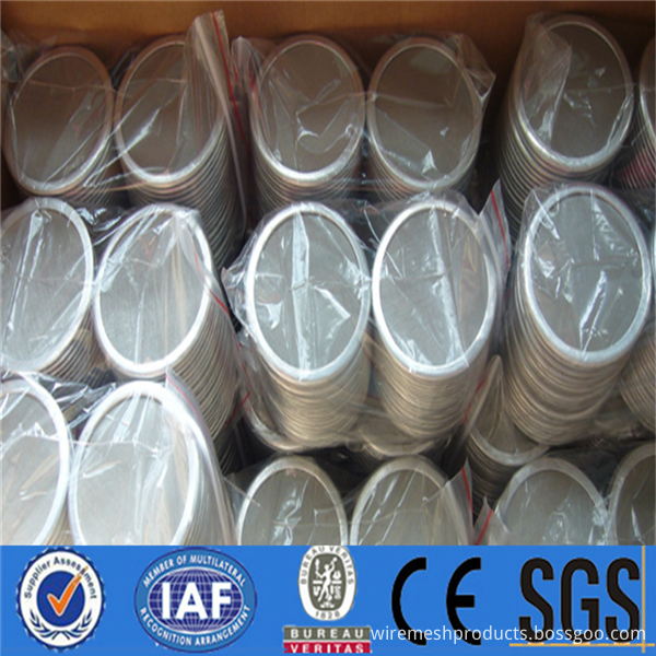 High filter precision stainless steel filter disc for Stainless steel filter discs for transformer oil  (29)