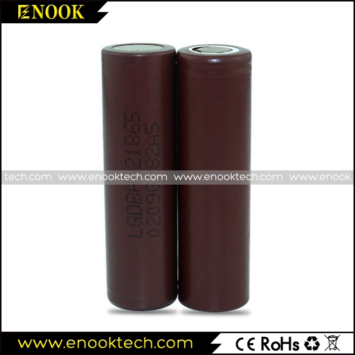LG HG2 18650 li-ion battery for e cigs