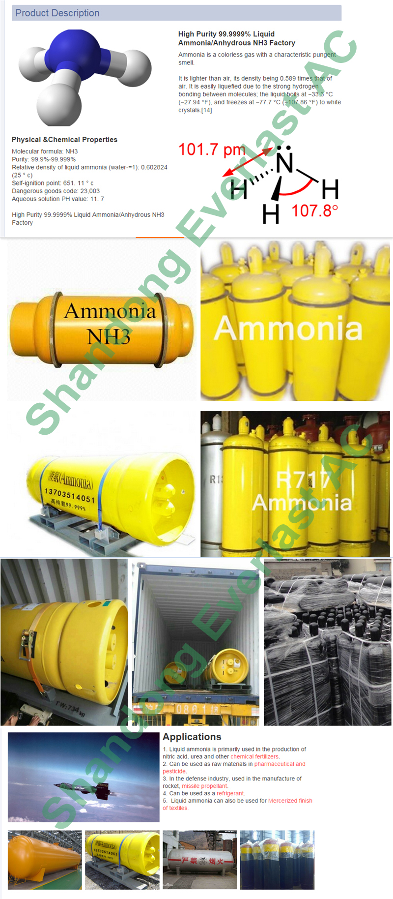 product description-1AMMONIA