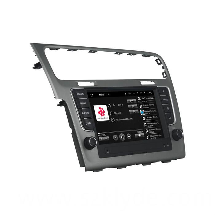 ANDROID CAR GPS PLAYER FOR GOLF 7