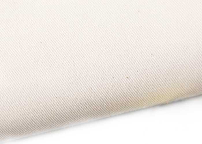 White Cotton Twill Fabric