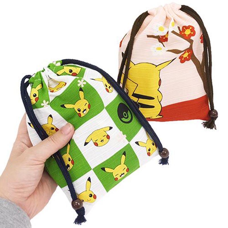 Pikachu Pokemon Style Drawstring Bag