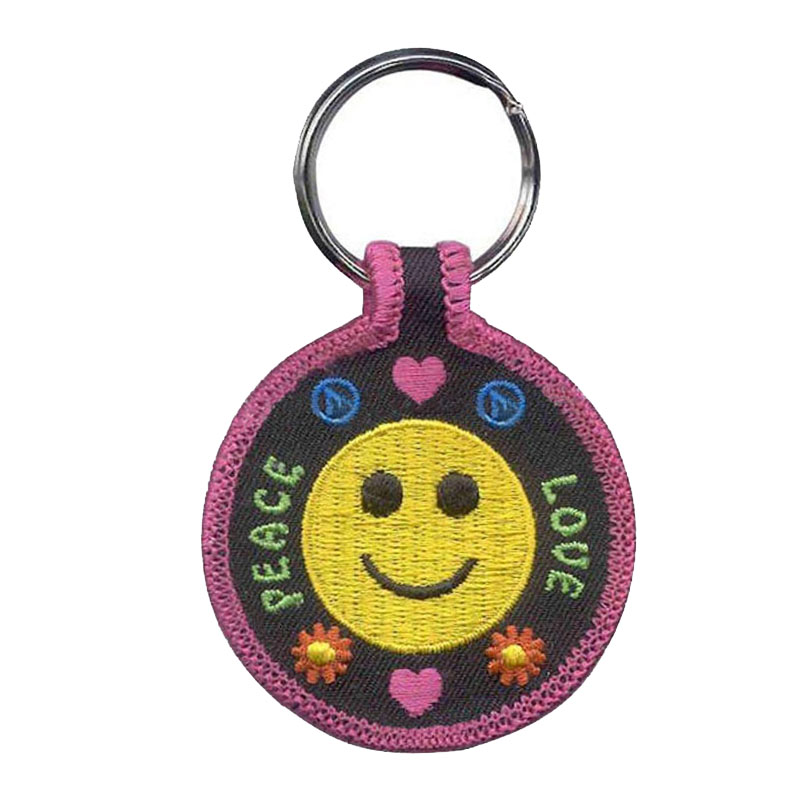 Wholesale Twill Keychains