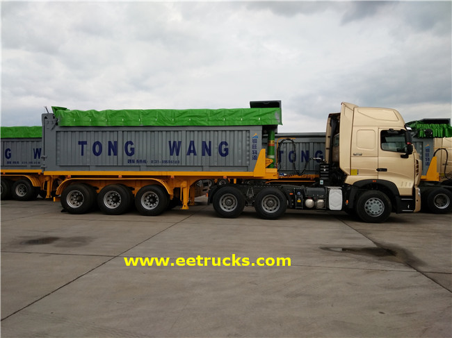 32 Ton End Dump Trailers
