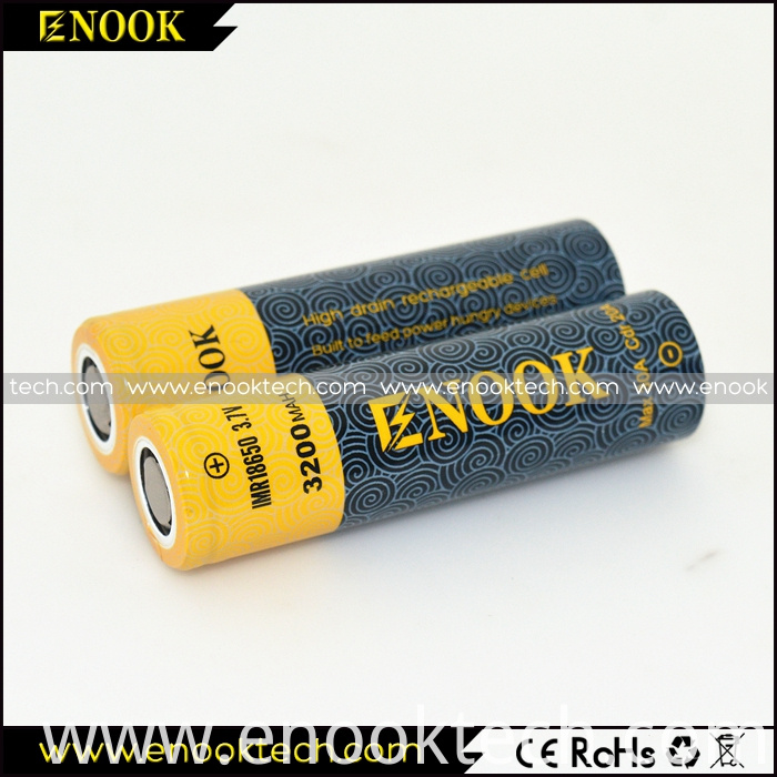 New Type ENOOK 3200mah 20A 1860 Mod Battery