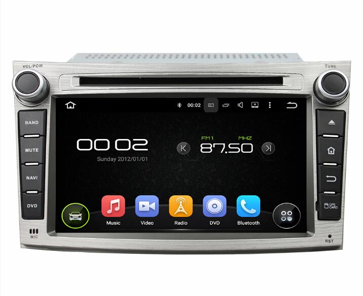 8 inch Subaru Legacy outback car dvd player
