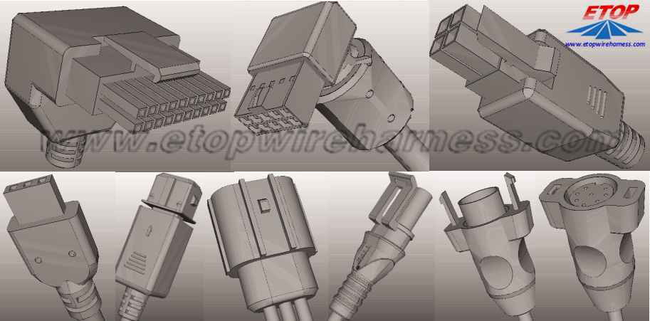 molded cable housing
