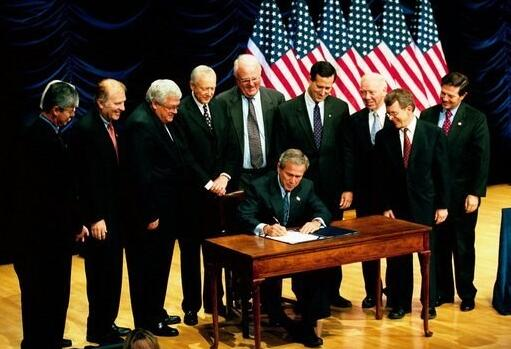 President Bush Signed CPSIA Policy of Leather Baby Shoes Products