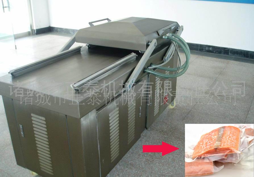 Ham,Meat,Sausages Semi-automatic Vacuum Packing Machine