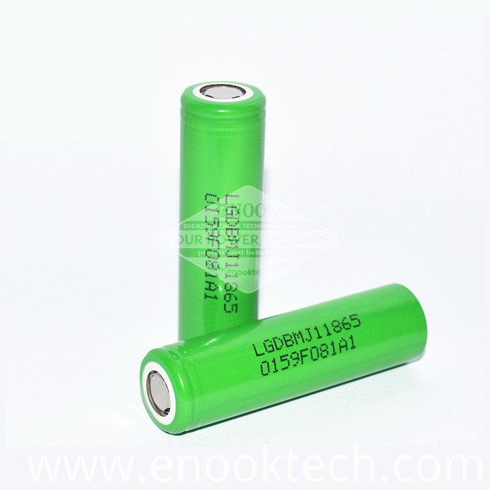 3400mah 18650 Battery Lg Mj1 max10a 3.7v