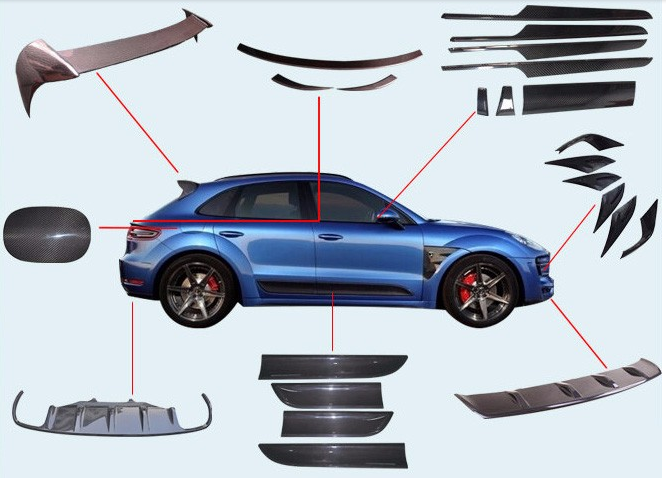 Carbon car components