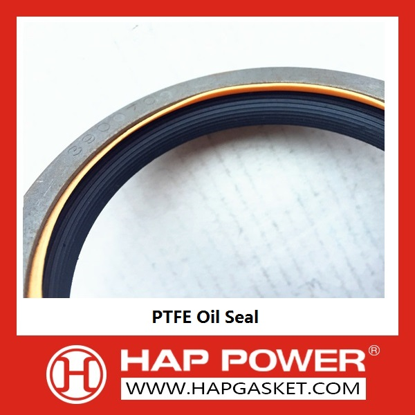 Yellow and Black PTFE Oil Seal