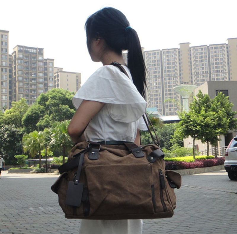 Portable Travelling Handbag with Strip