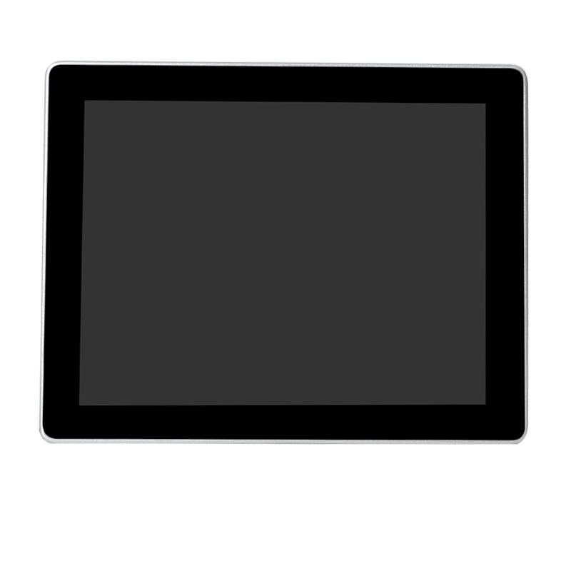 Square screen projected capacitive touch monitor