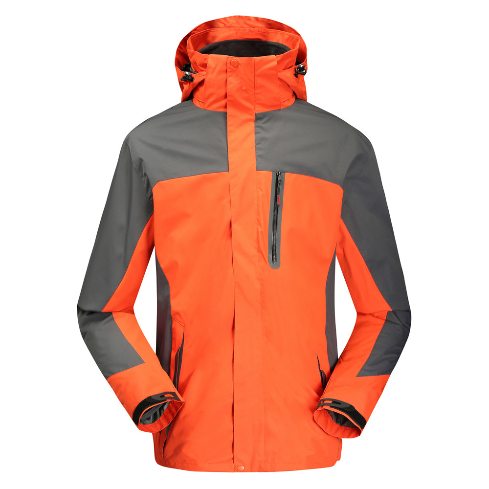 Orange Outdoor Jacket 1