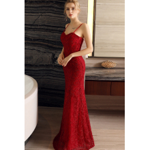 Sheath/Column Lace Floor Length Beautiful Dresses to Wear to a Wedding