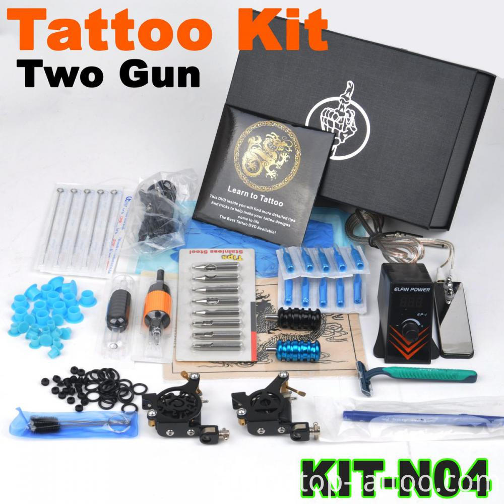 tattoo kit case complete
