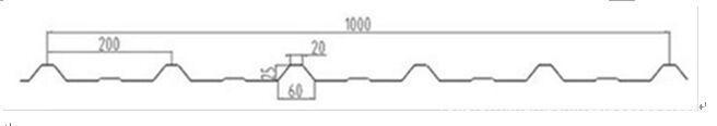 Trapezoidal metal sheet forming machine ZT25-200-1000 ZT25-200-1000 02