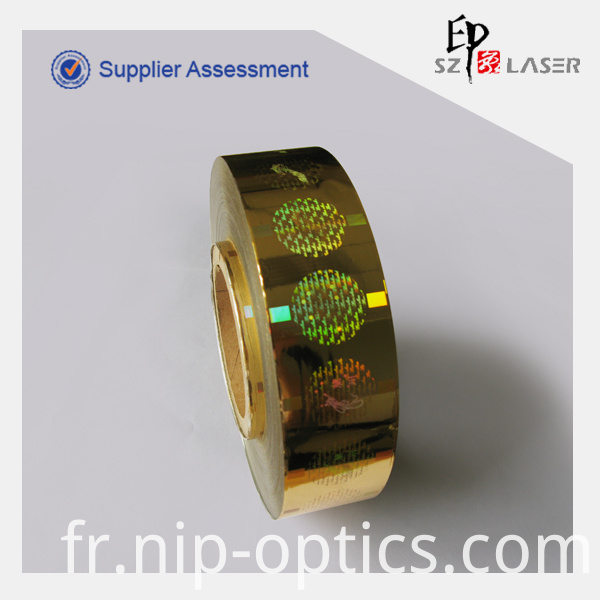 Hot Stamping Hologram Label
