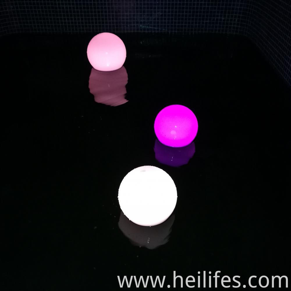 16 colors led ball light
