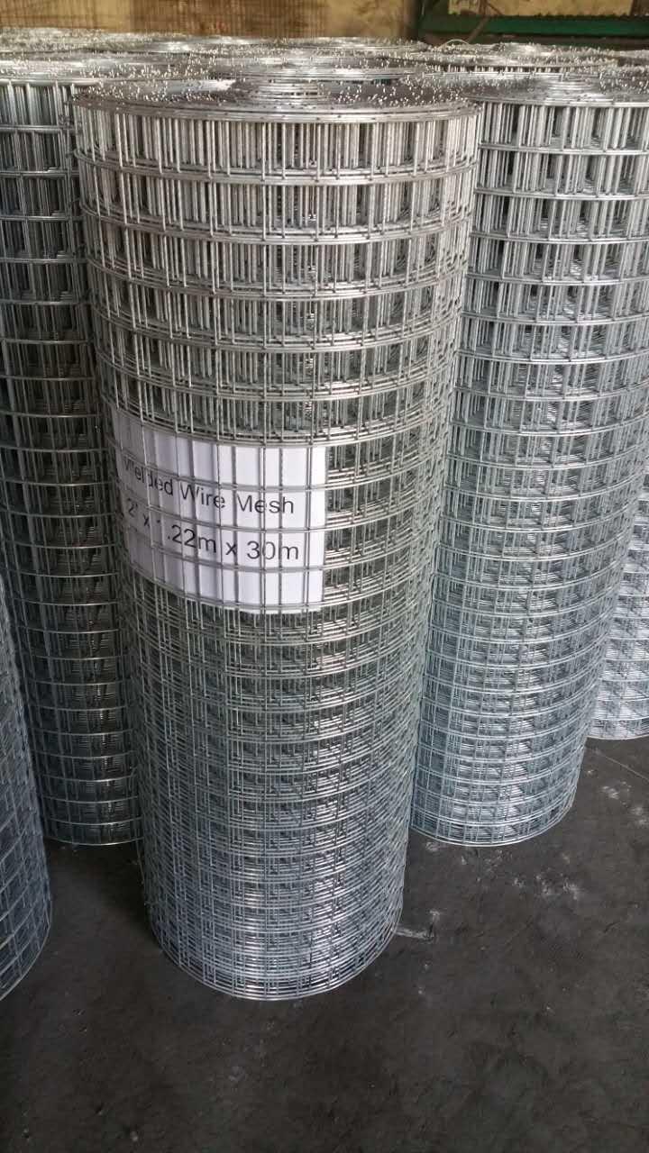 Geschweißter Drahtzaun verzinkt gegen Rost China Hersteller