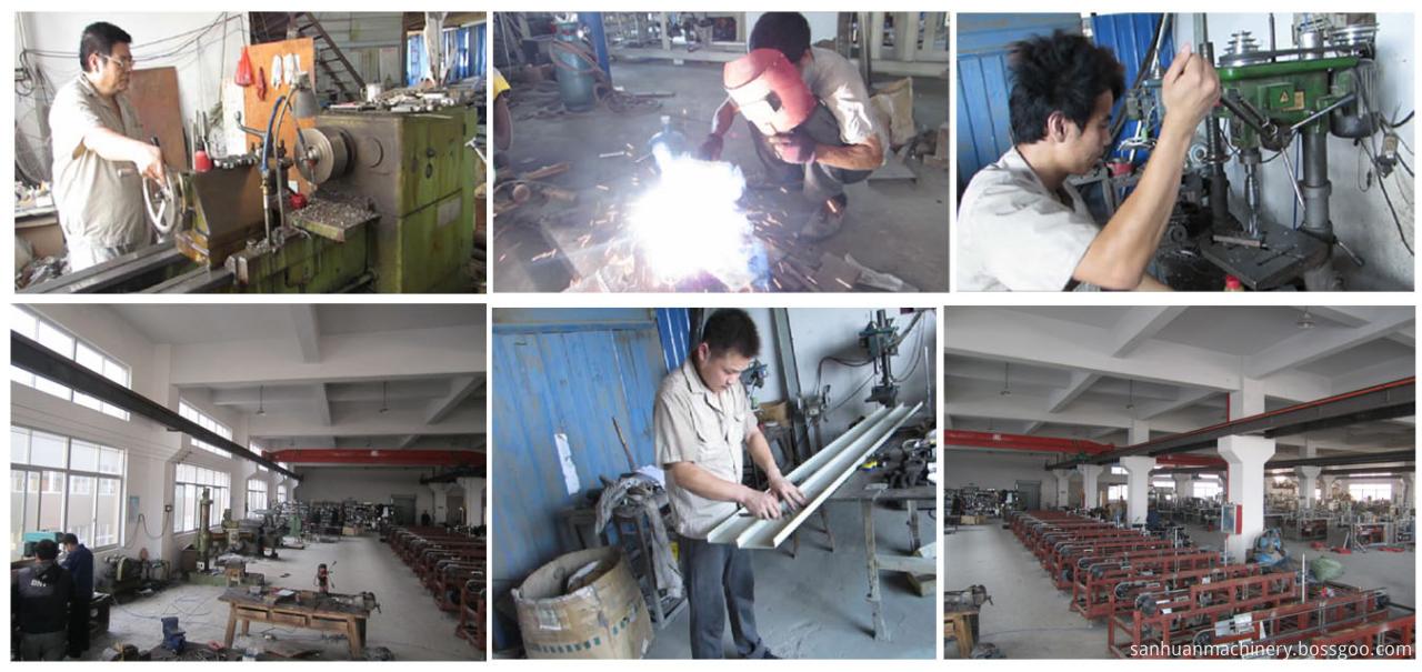 cutlery packing machine workshop