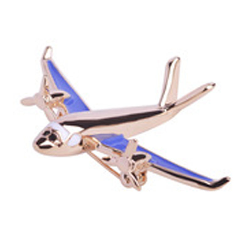 Enamel Airplane Brooches