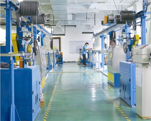 Cable manufacturing line