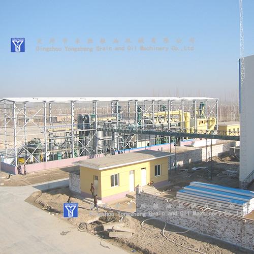 300T Oil Press Turnkey Project