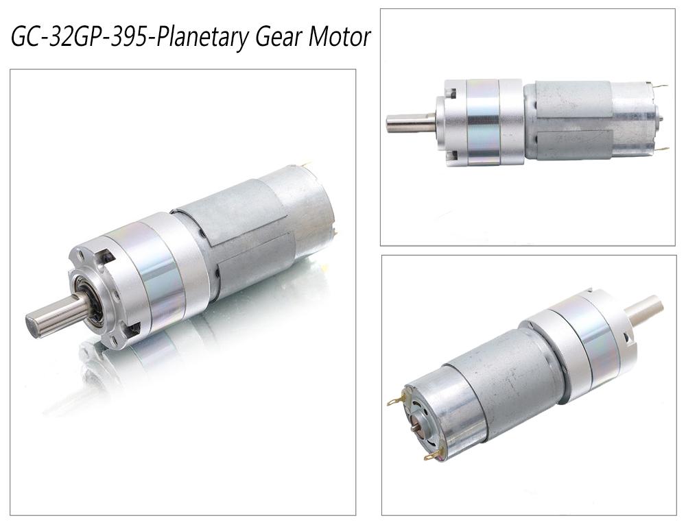Epicyclic Gear Motor