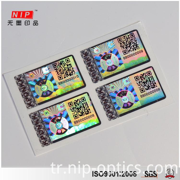 Honeycomb Hologram Sticker
