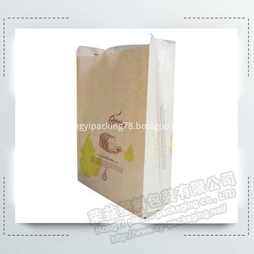Logo Print Bread Packaging Bags