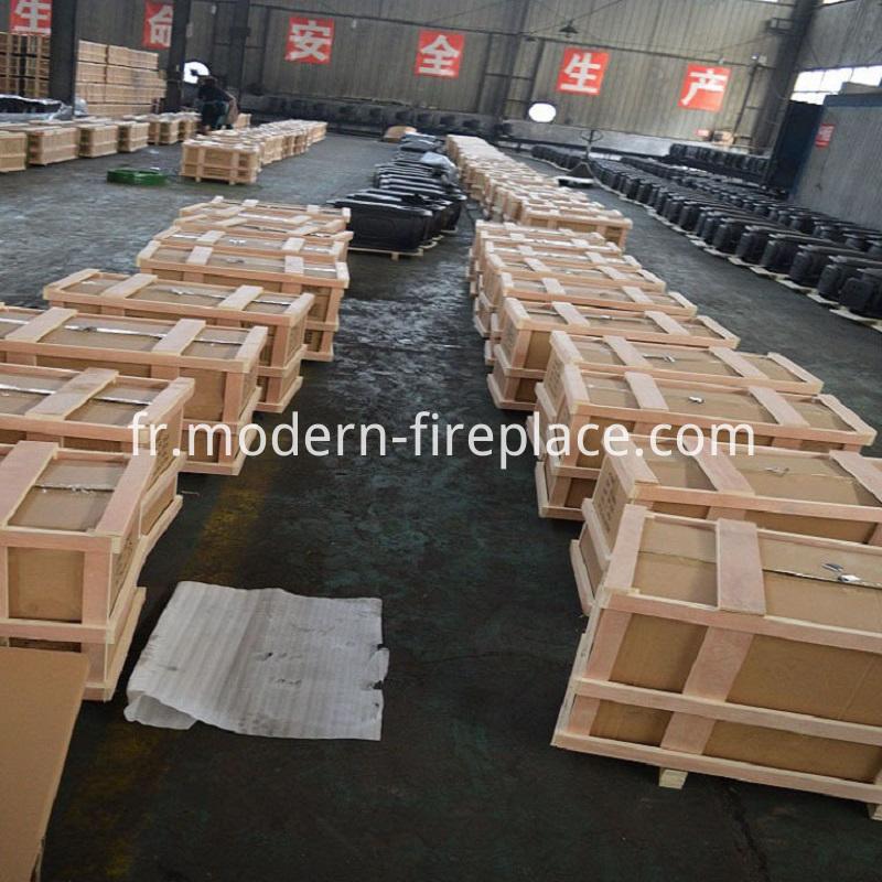 Log Wood Burning Stove Packaging