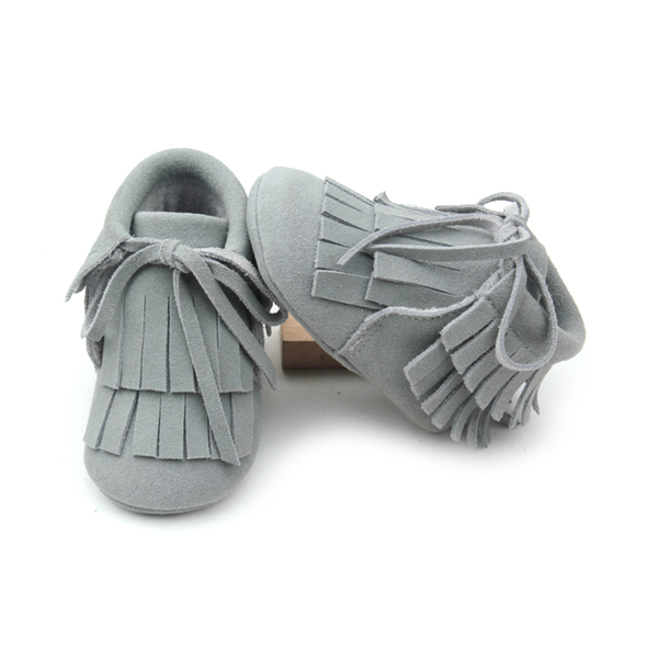 Leather Baby Moccasins Boots