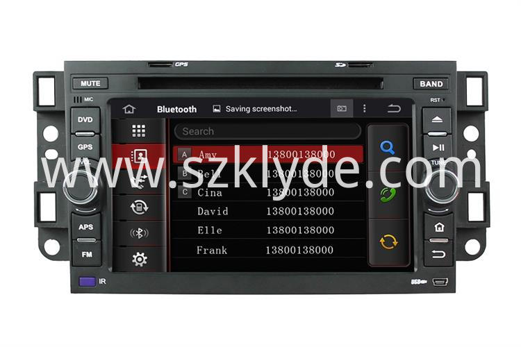 Chevrolet Epica android car stereo systems (1)