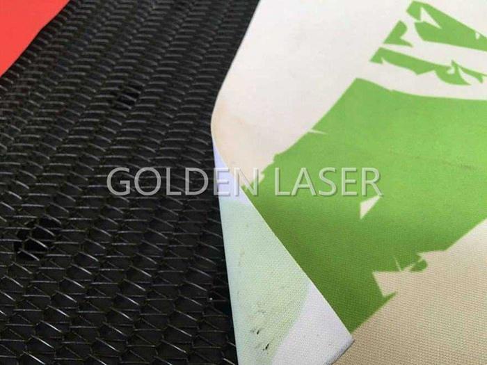 laser cutting banner flag