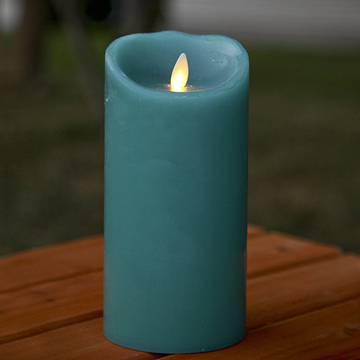 wax moving wick led candle