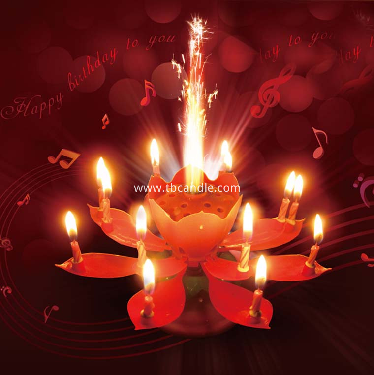 14 little candles Music Lotus