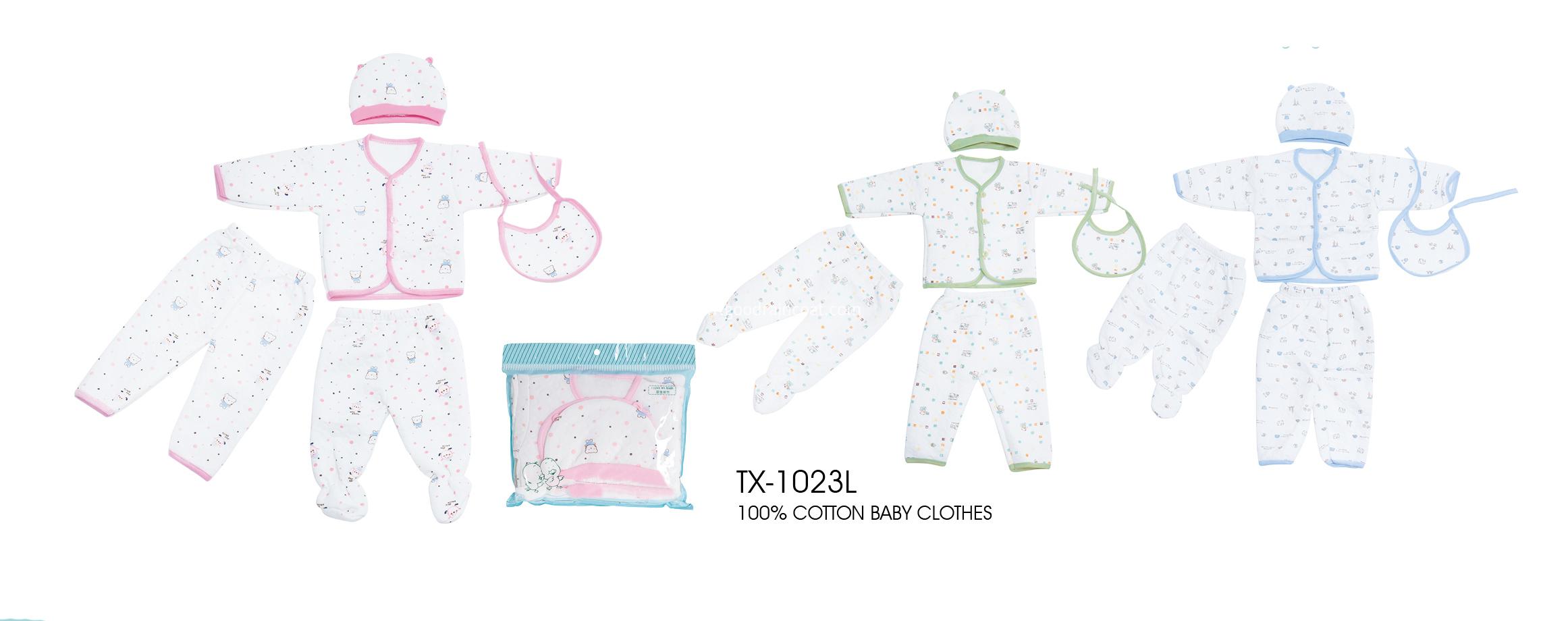 5 pcs baby clothes set