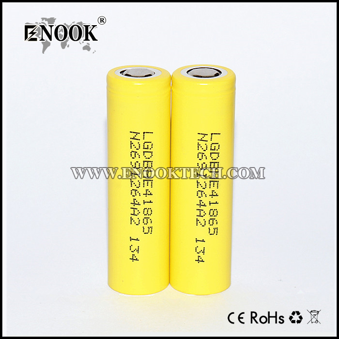 LG HE4 2500mah 20a Rechargeable 18650
