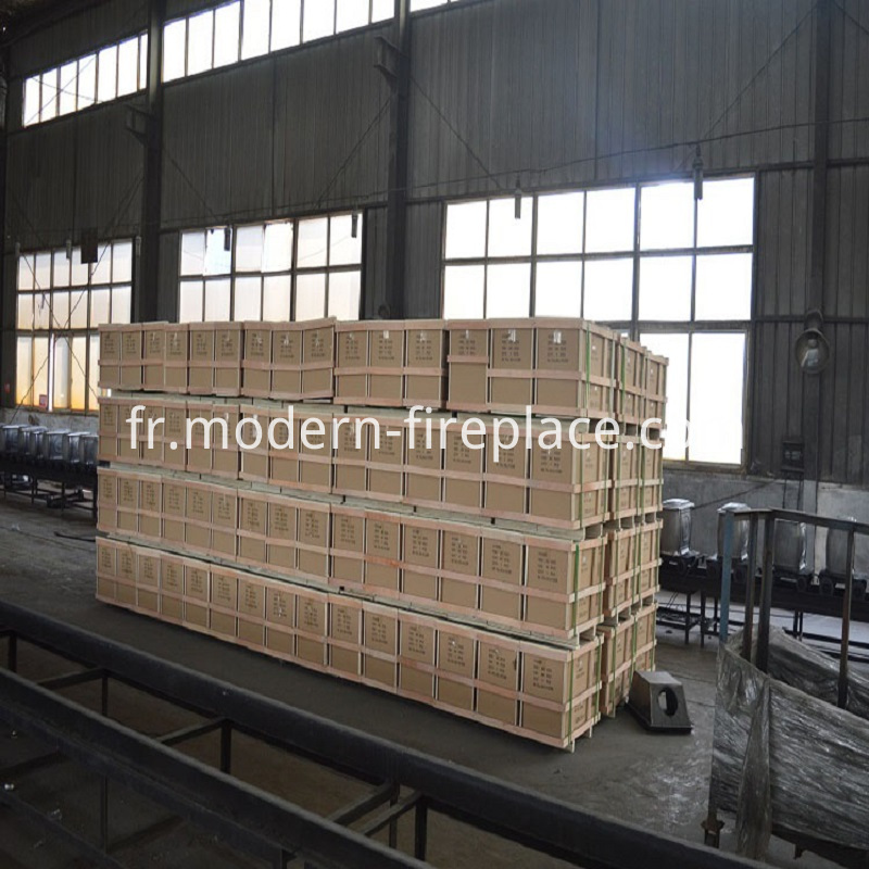 Wood Fire Stoves Factory Packaging