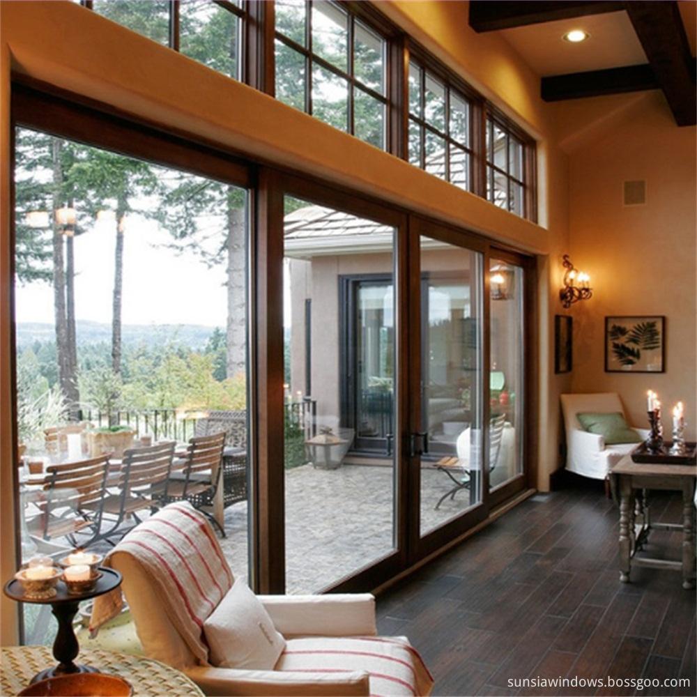 Double Glass Sliding Doors