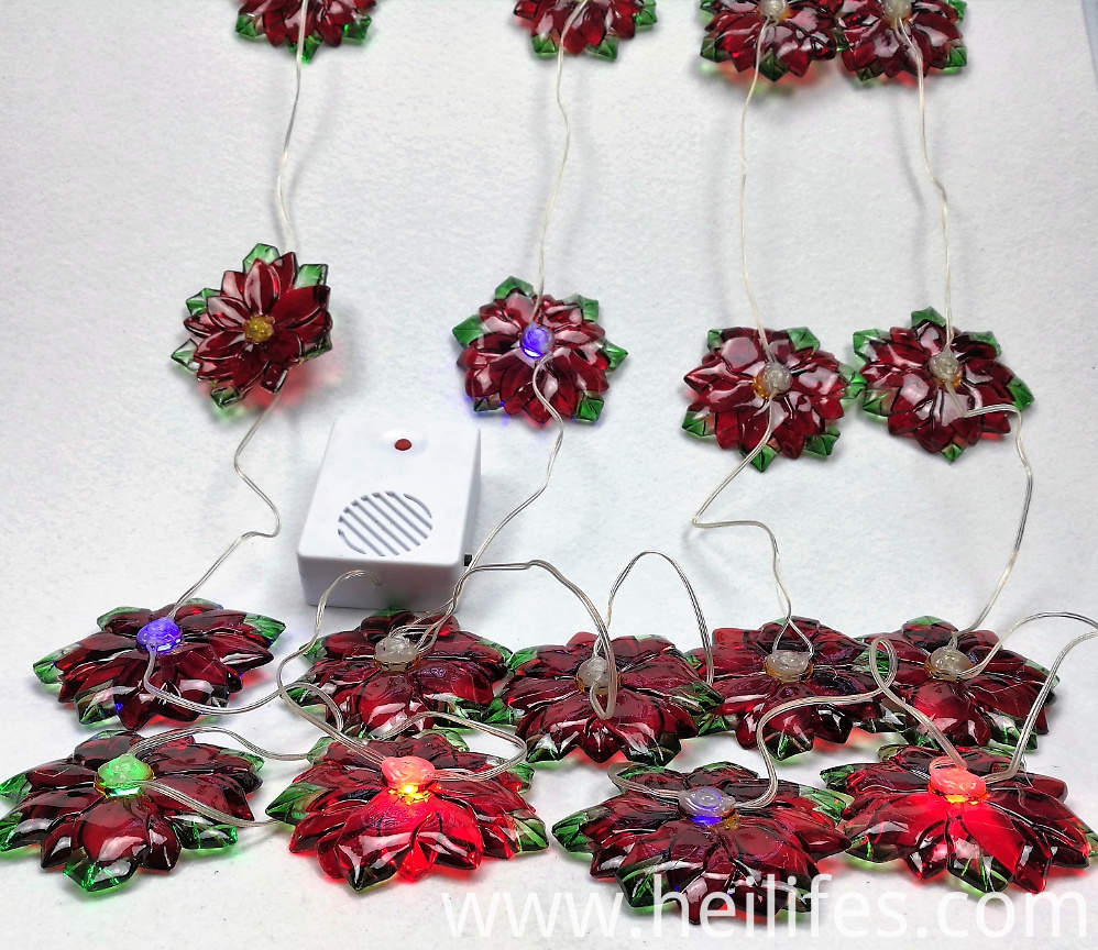 Customized decorations Gifts of LED Flowers