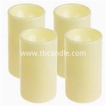 Lifetime guarantee plastic LED candle