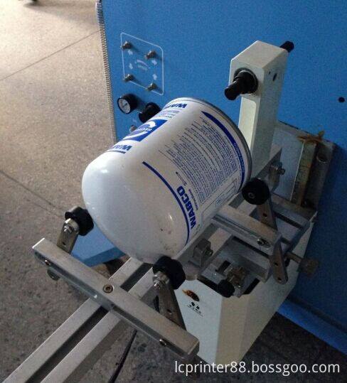Cosmetic Tube Cylinder Surface Screen Printer