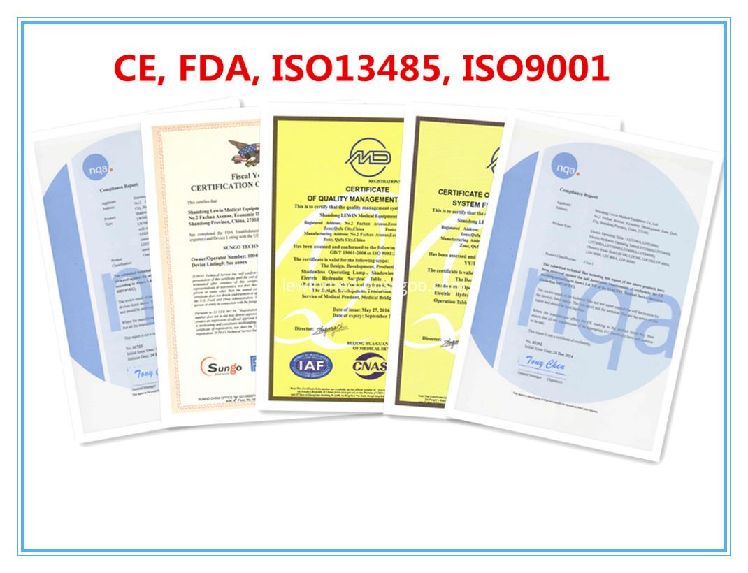 CE & FDA certificate