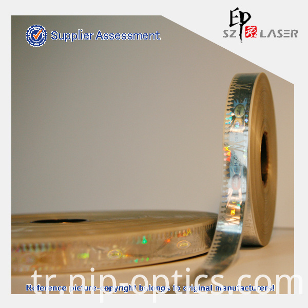 holographic security strip